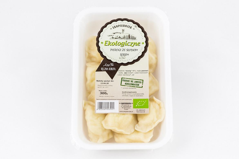 Ekologiczne pierogi ze słodkim serem 2